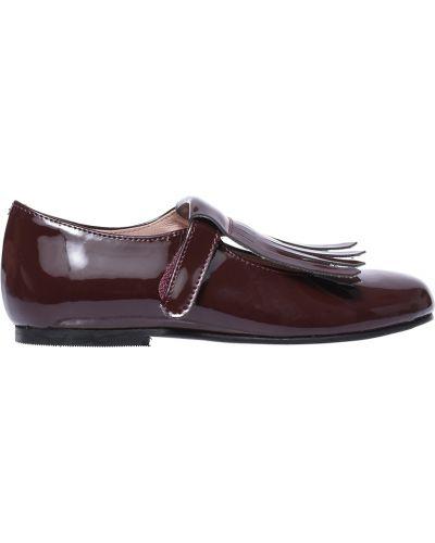 Туфли лаковые красные Jacadi Paris