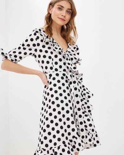Платье с запахом весеннее Tutto Bene