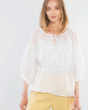 Белая блузка Maxa