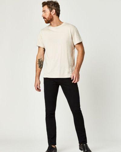 Хлопковые джинсы - черные Mavi