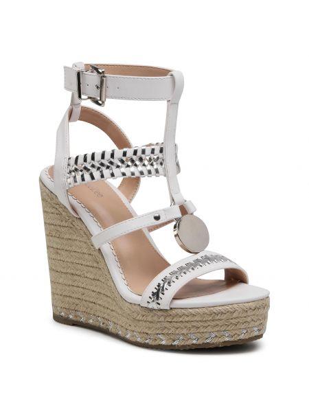 Sandały espadryle - białe Deezee