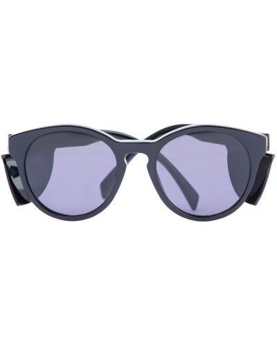 Солнцезащитные очки кошачий глаз пластиковые Moschino