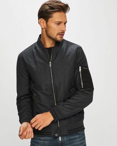 Утепленная куртка укороченная на резинке Armani Exchange