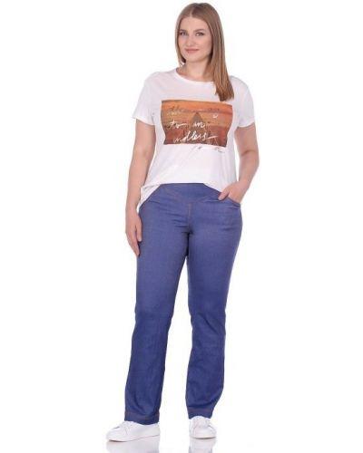 Повседневные прямые брюки стрейч Blagof