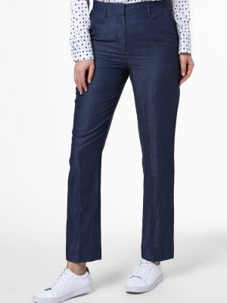 Niebieskie spodnie do pracy Ipuri