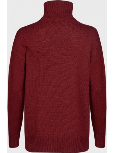 Шерстяной свитер - красный Luisa Spagnoli