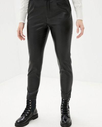Черные кожаные брюки Softy