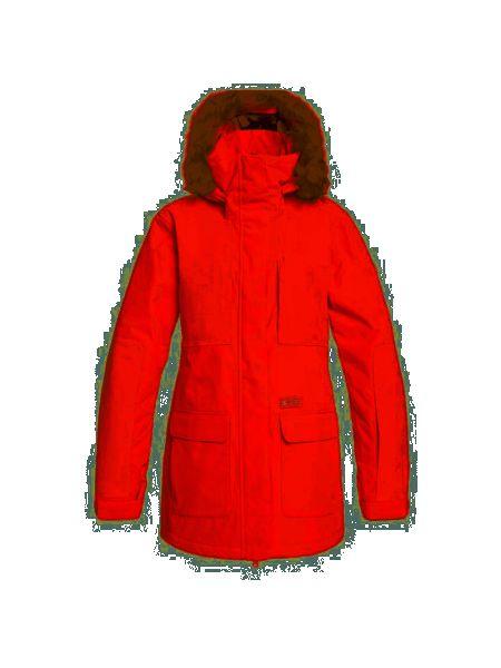 Куртка горнолыжная с капюшоном - розовая Dc Shoes