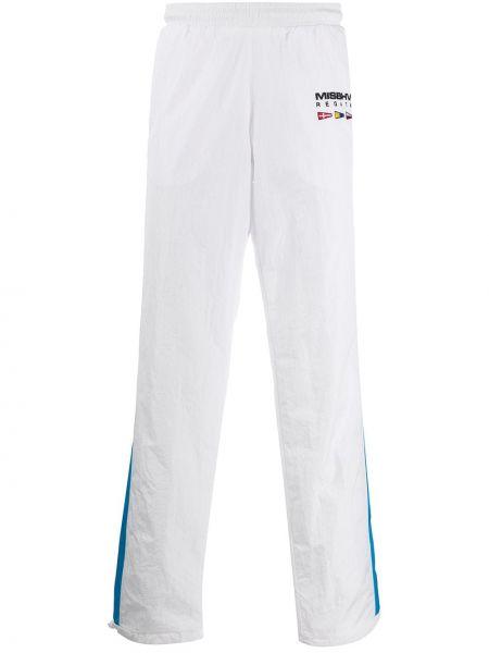 Białe spodnie softshell Misbhv