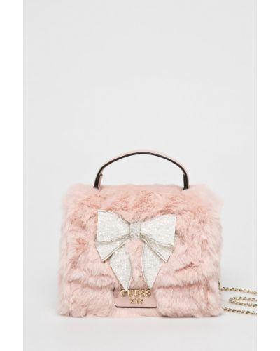 Джинсы с подкладкой розовый Guess Jeans