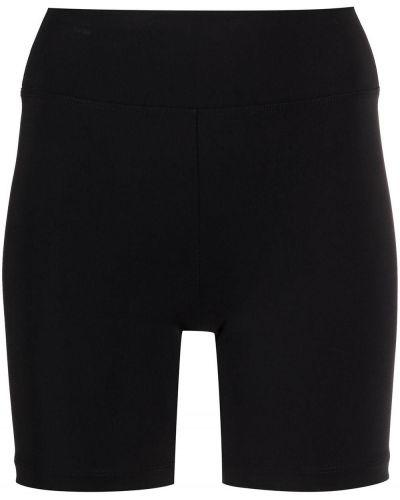Облегающие черные шорты эластичные Koral