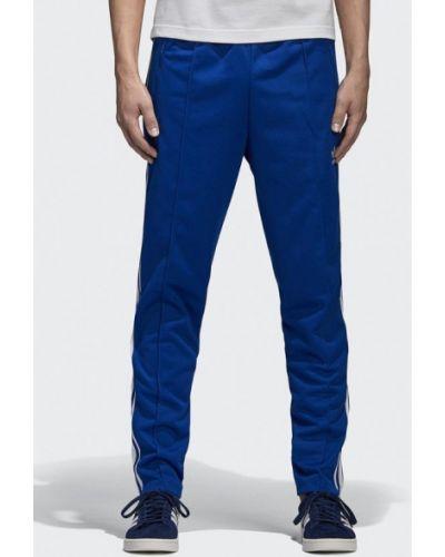 Синие спортивные брюки Adidas Originals
