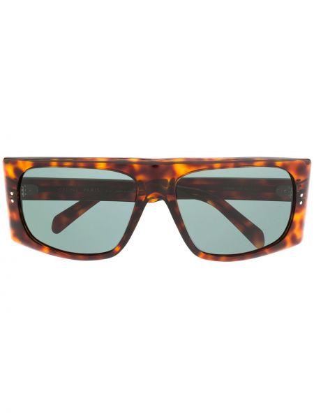 Okulary przeciwsłoneczne przeoczenie prostokątny Celine Eyewear