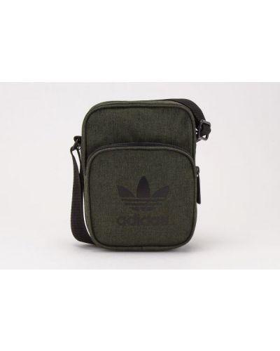 Zielona torebka na co dzień Adidas