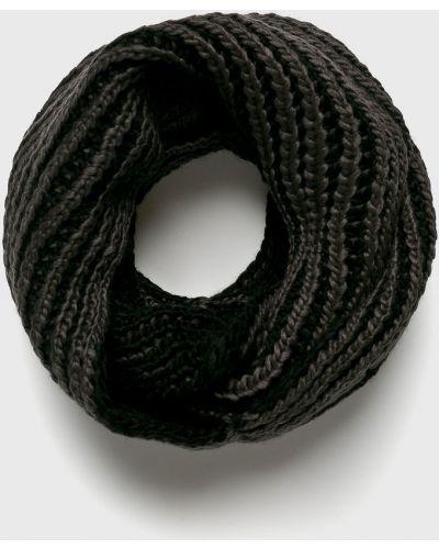 Серый шарф трикотажный Blend