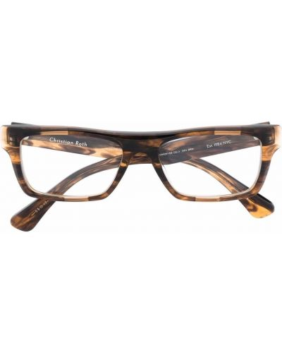 Brązowe okulary Christian Roth