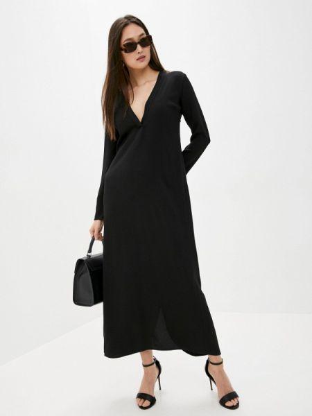 Повседневное платье черное весеннее Lautre Chose