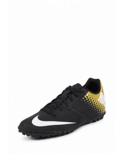 Бутсы бутсы-многошиповки черные Nike