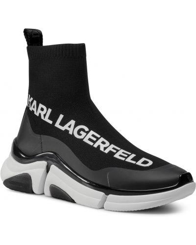 Półbuty casual - białe Karl Lagerfeld
