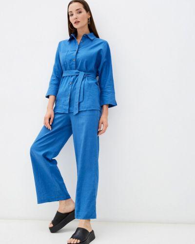 Синий костюм летний Imocean