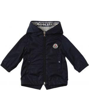 Płaszcz z kapturem bawełniany Moncler