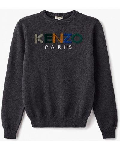 Свитер серый Kenzo