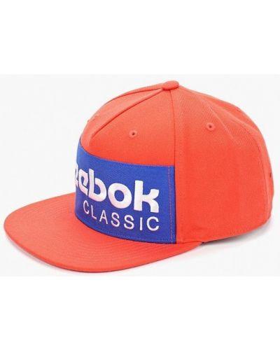 Бейсболка классическая оранжевый Reebok Classics