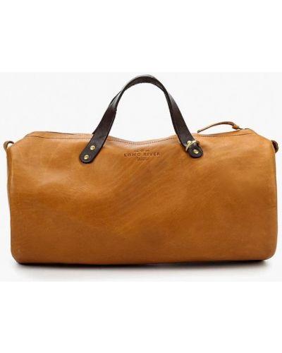 Дорожная сумка кожаный Long River