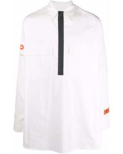 Biała koszula bawełniana - biała Heron Preston