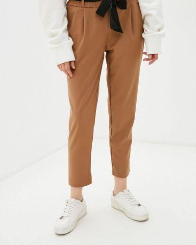 Повседневные коричневые брюки Rinascimento