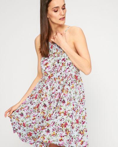 Платье мини свободного кроя с декольте Answear