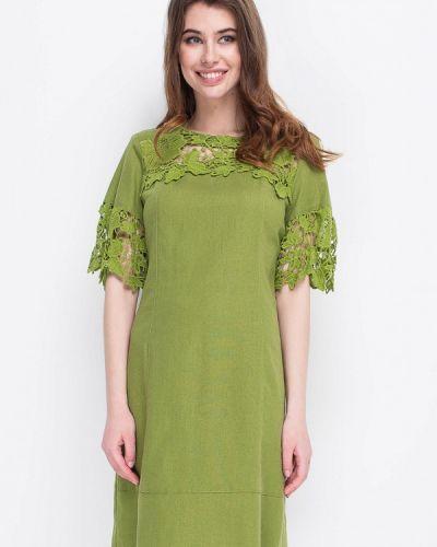 Платье весеннее зеленый Ruta-s