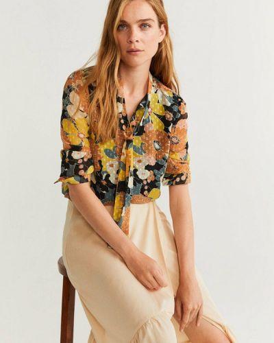 Блузка с коротким рукавом Mango