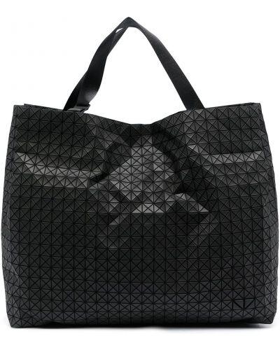Bawełna torba kosmetyczna z łatami z kieszeniami Bao Bao Issey Miyake