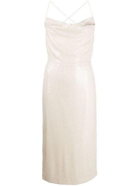 С ремешком платье на бретелях Misha Collection