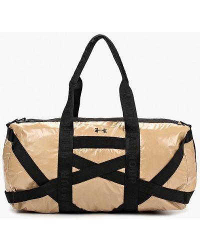 Спортивная сумка бежевый весенний Under Armour