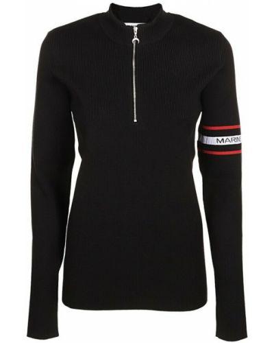 Czarny sweter Marine Serre