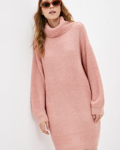 Вязаное платье - розовое By Swan