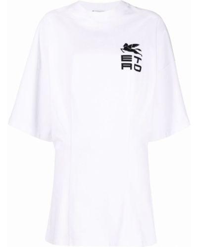 Платье мини короткое - белое Etro
