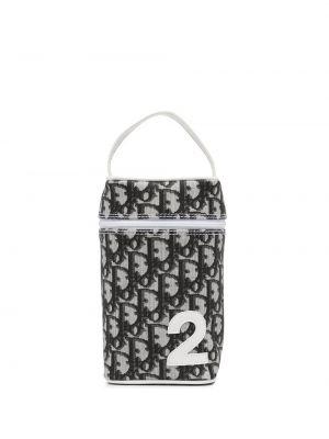 Czarna torebka skórzana Christian Dior