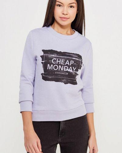 Фиолетовая толстовка Cheap Monday