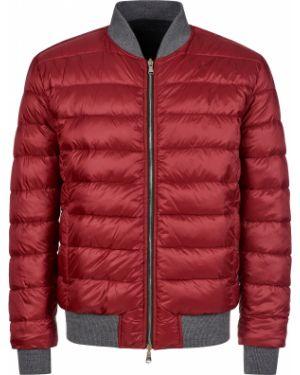 Шерстяная куртка - красная Barba Napoli