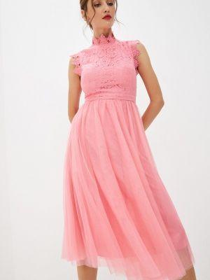 Прямое платье - розовое Soky & Soka