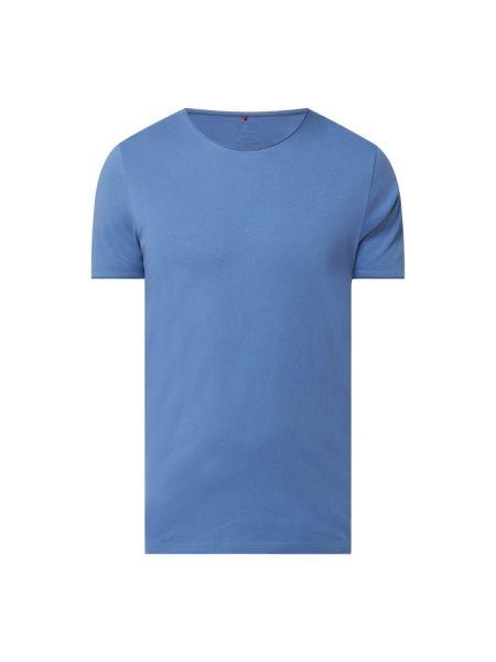 T-shirt bawełniana - niebieska Cinque