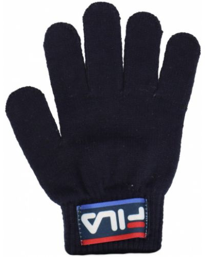 Czarne rękawiczki Fila
