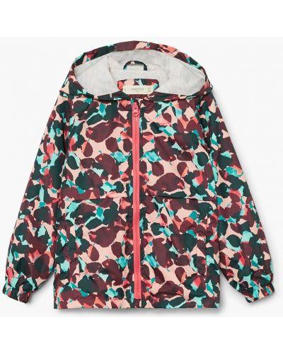 Куртка хлопковая с подкладкой Mango Kids