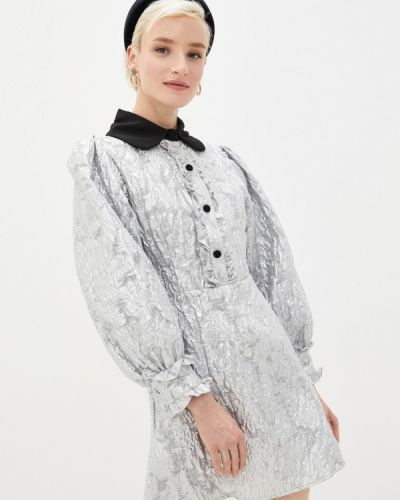 Серебряное вечернее платье Sister Jane