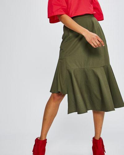 Зеленая юбка на резинке Medicine