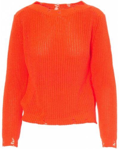 Pomarańczowy sweter Tensione In