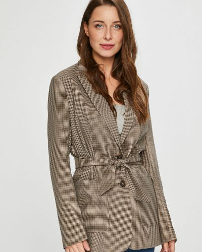 Классический пиджак в стиле кэжуал с поясом Only